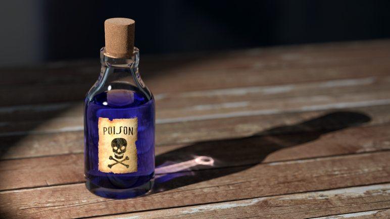 Toxic people are like a bottle of poison we ingest slowly